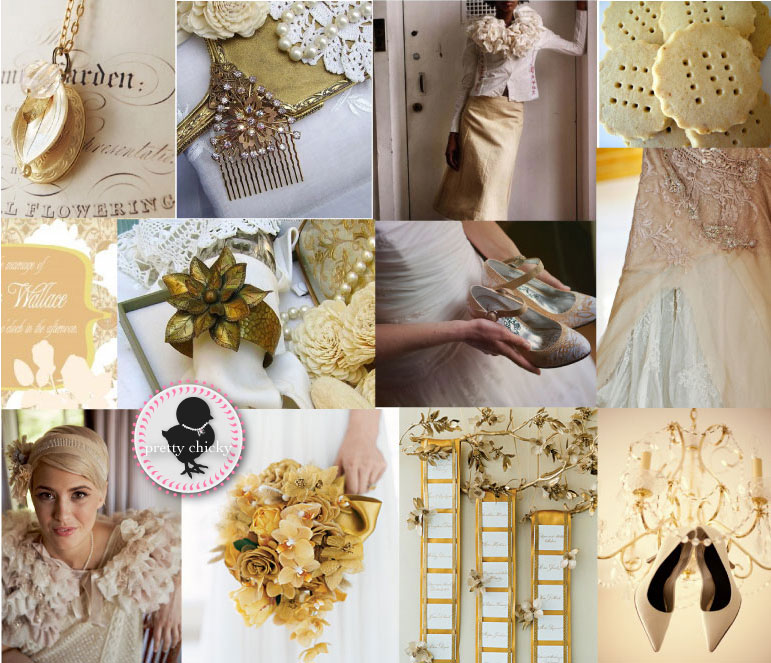 White And Gold Wedding Decorations: Theme Wedding Decorations, Wedding