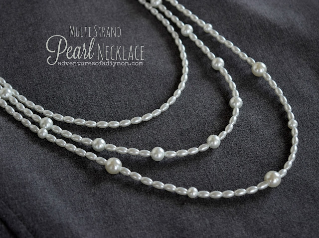 How to Make a Pearl Multi-strands Necklace