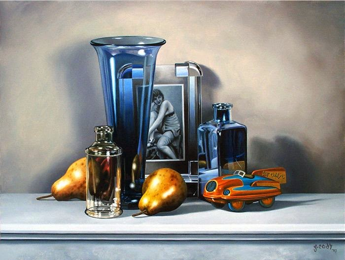 15-Gary-Cody-Photo-Realistic-Paintings-of-our-Keepsakes-www-designstack-co
