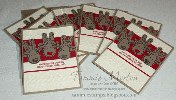 Tammie Stamps: Cookie Cutter Christmas Card Swap