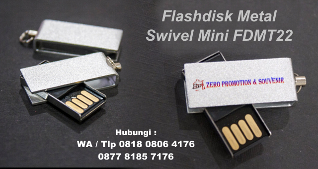 souvenir Grosir Flashdisk Promosi Termurah menjual Usb Metal Swivel Mini Fdmt22, Flash Disk Promosi, Souvenir USB Flashdisk Metal, flashdisk besi promosi, flashdisk unik, usb putar metal model terbaru