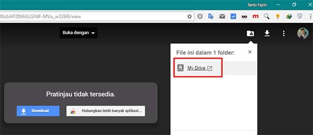Cara Mengatasi Batasan Download Google Drive Yang Limit
