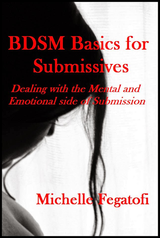 BDSM Basics for Submissives - non fiction educational book cover