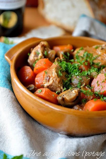 Veau marengo / cuisine française