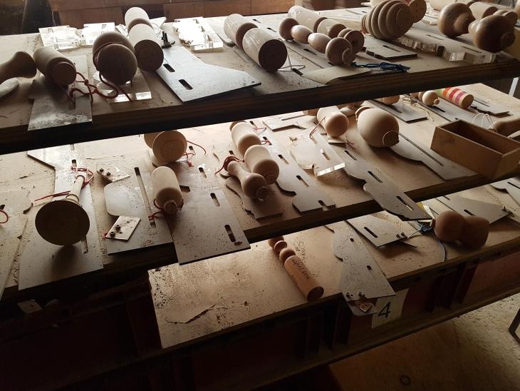 gabarit pour production de jouets vilac