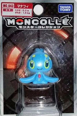 Manaphy figure Takara Tomy Monster Collection MONCOLLE MC series