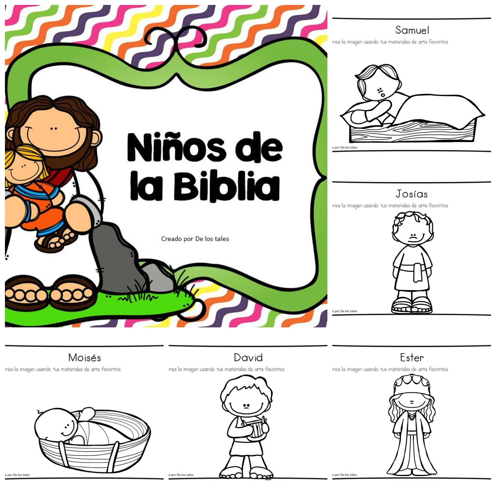 Niños de la Biblia - De los tales