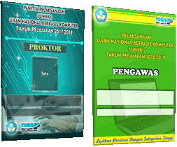 Download Desain ID Card Proktor , Teknisi Dan Pengawas UNBK