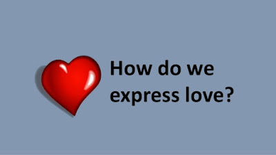 We don't always express our love. Love is a feeling and the expression of that feeling is separate. It's an action. There's a practical reason we don't always express our love for another. It's an issue of TIME. We only have 24 hours