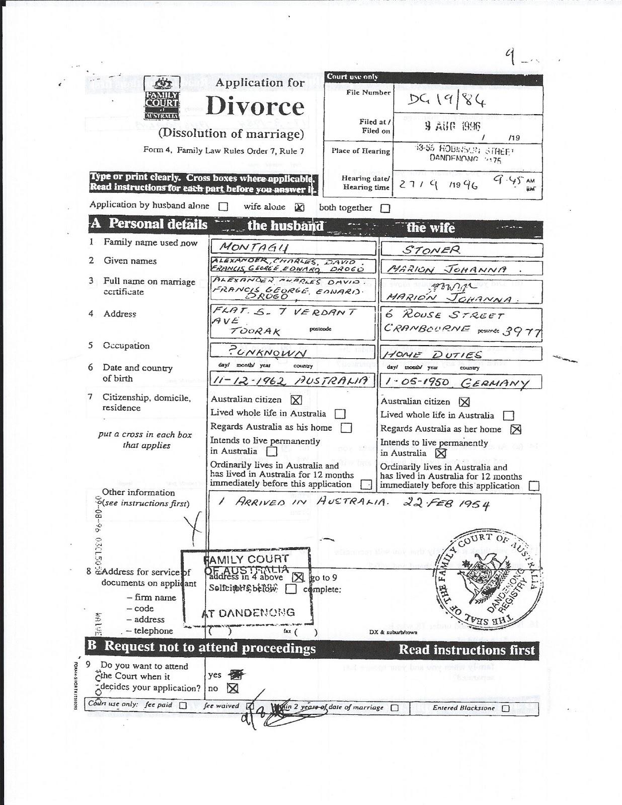 Divorce Papers In Mississippi – Sample of Divorce Decree