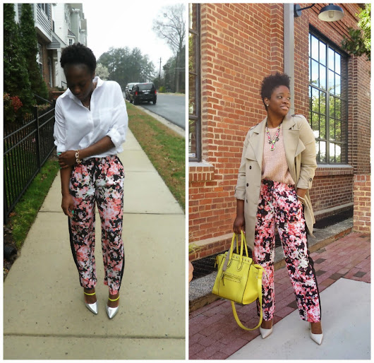 Two bloggers, One Pant