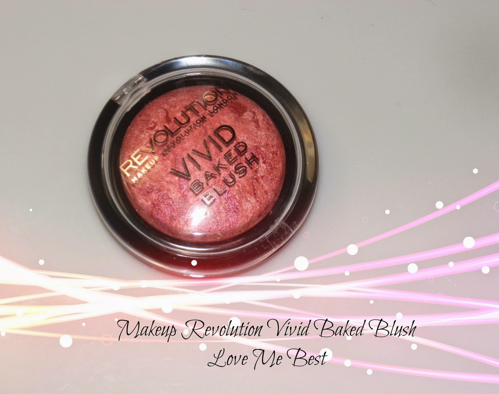 Makeup Revolution Baked Blush Love Me Best Swatches