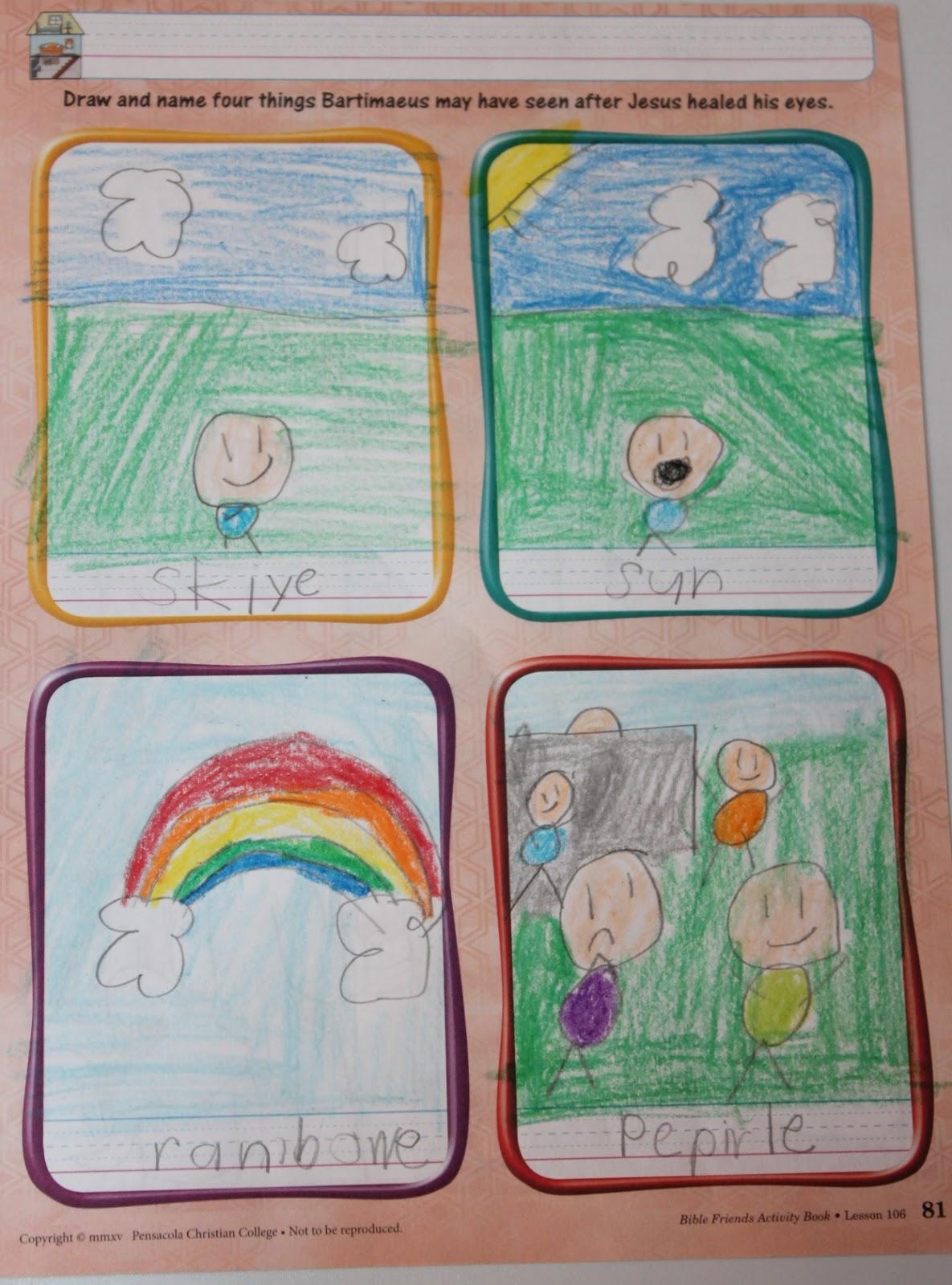 Greetings from Guatemala: Homeschool Week 25: Seeing The Light [ 1600 x 1185 Pixel ]