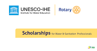 Rotary Scholarships for Water and Sanitation Professionals 2018