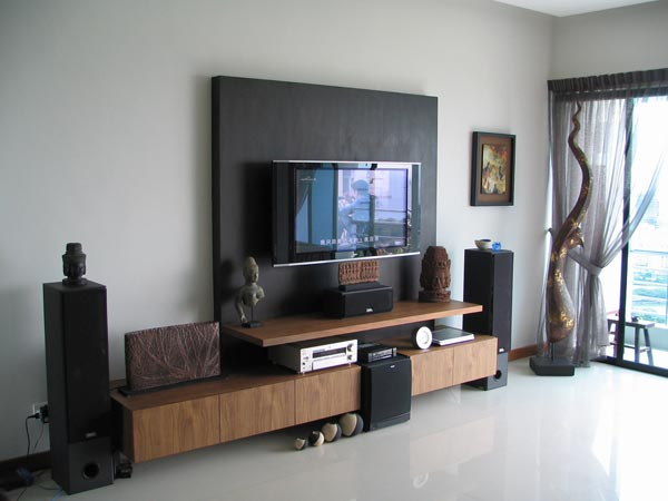Lisa Mende Design: How To Decorate Around A Flat Screen TV