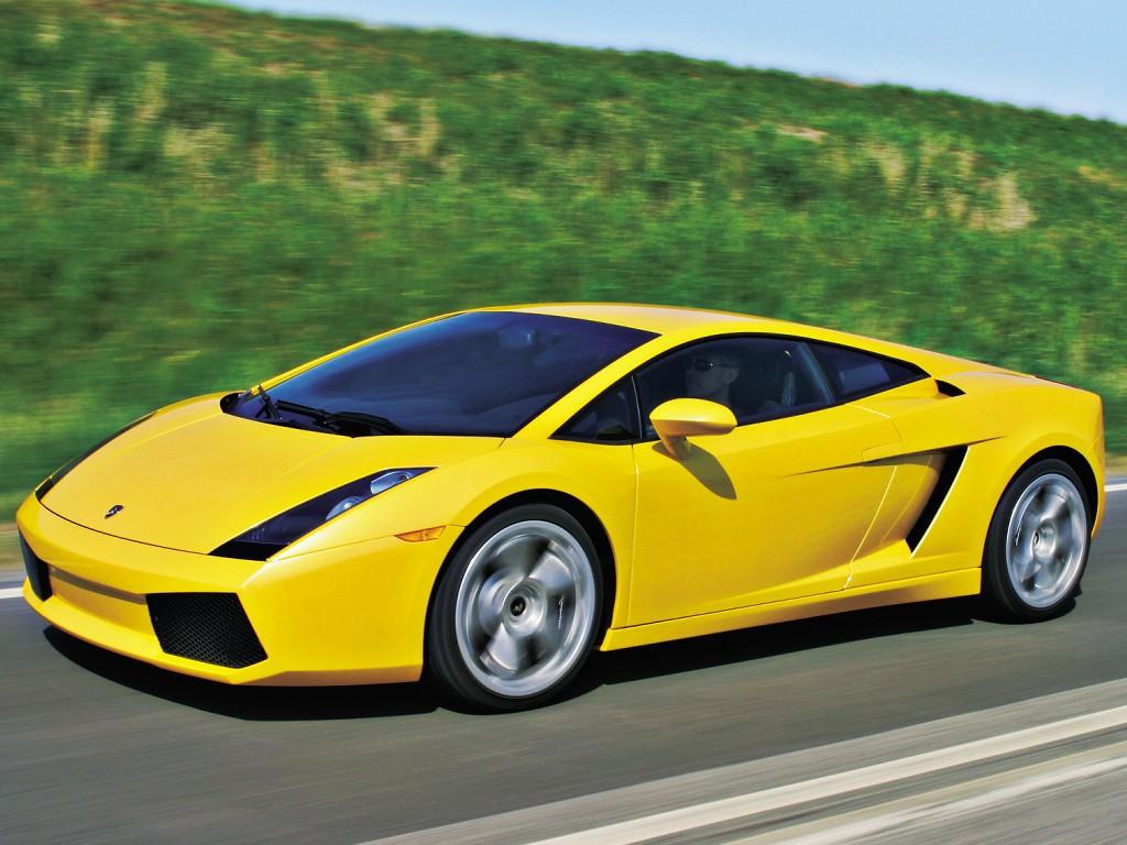 Lamborghini Gallardo Spyder Yellow