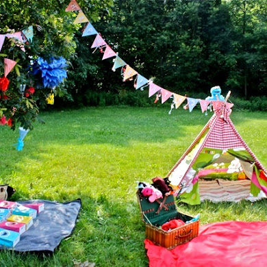A Sesame Street Inspired Party in Central Park