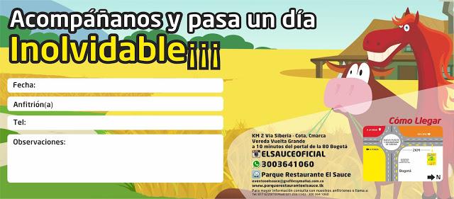 Invitacion editable paquetes fiesta cumpleaños Bogota