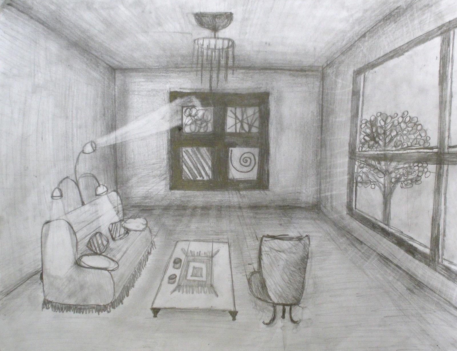 Studio Art With Ms Hopenwasser Grade 7 One Point