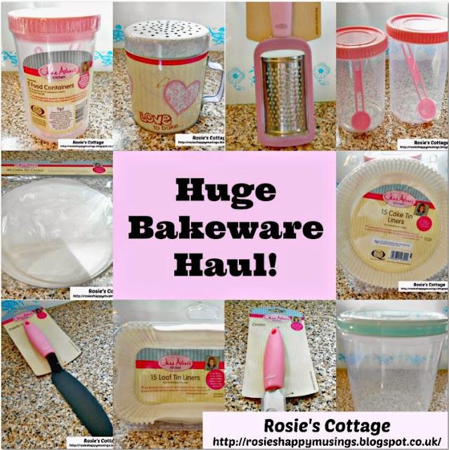 Jane Asher kitchenware range at Poundland