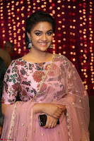 Keerthi Suresh Looks super cute in Designer Anarkali Dress at Zee Telugu Apsara Awards 2017 10.JPG