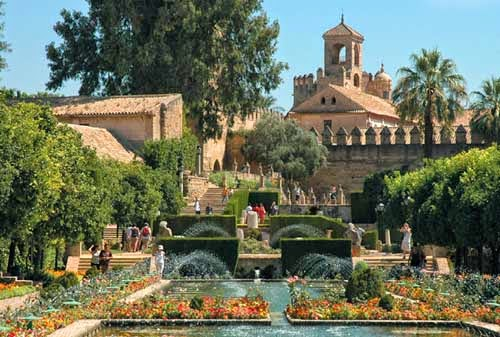 Jardines de los Reales Alcazares de Córdoba