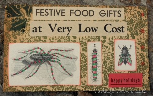 ICAD - Festive Food Gifts by Vintage with Laces