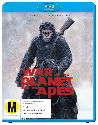 War for the Planet of the Apes: Blu Ray Review