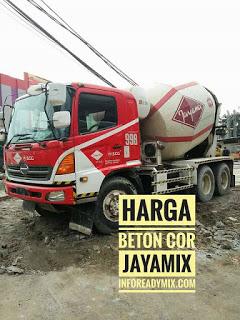Beton Cor JAYAMIX MURAH Bogor Kota 2018