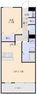 増尾1丁目1LDK グランディールトシコ103