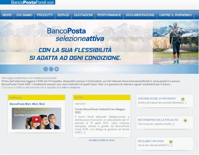 Fondi comuni Poste italiane 2017 su quali investire?