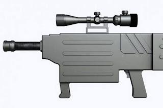 Senapan Laser China