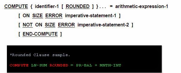Mainframe Forum: COBOL Rounded Clause | ROUNDED in COBOL