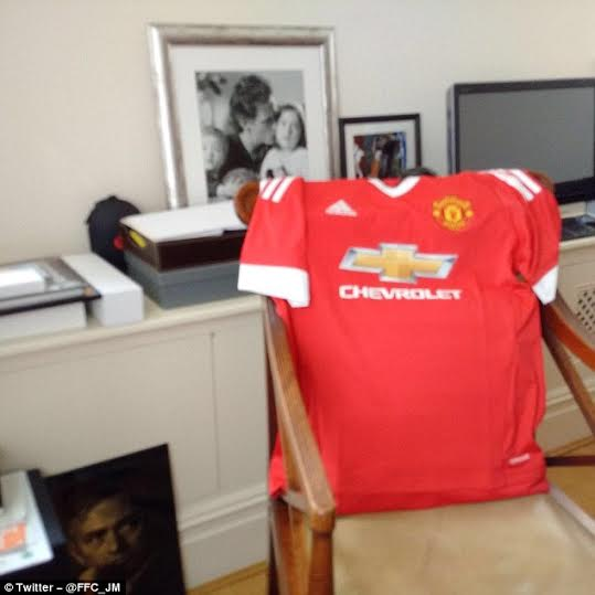 2 Photo: See Jose Mourinho's office at Manchester United