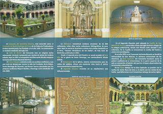 Claustros no Panfleto do Convento de Santo Domingo de Lima