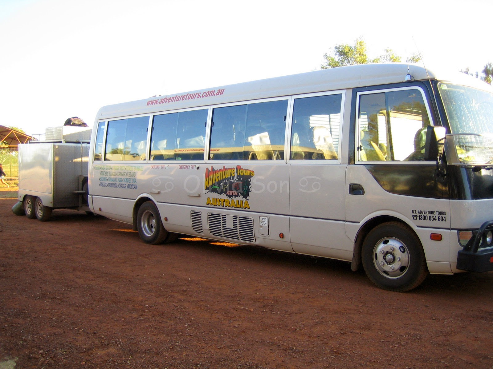Bus, Northern Territory, Australie