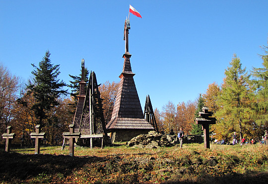 Cmentarz wojenny na Rotundzie.