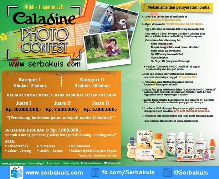 Caladine Photo Contest Berhadiah Uang Total  81 Juta