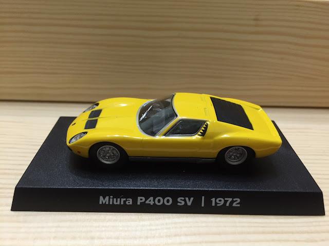 藍寶堅尼-1972年Miura P400SV