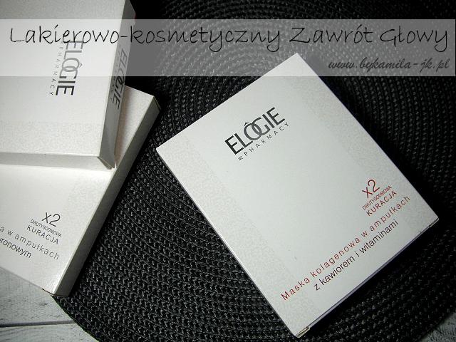 Maska kolagenowa Elogie kawior witaminy kolagen