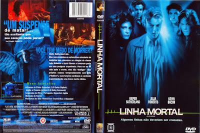 Filme Linha Mortal DVD Capa