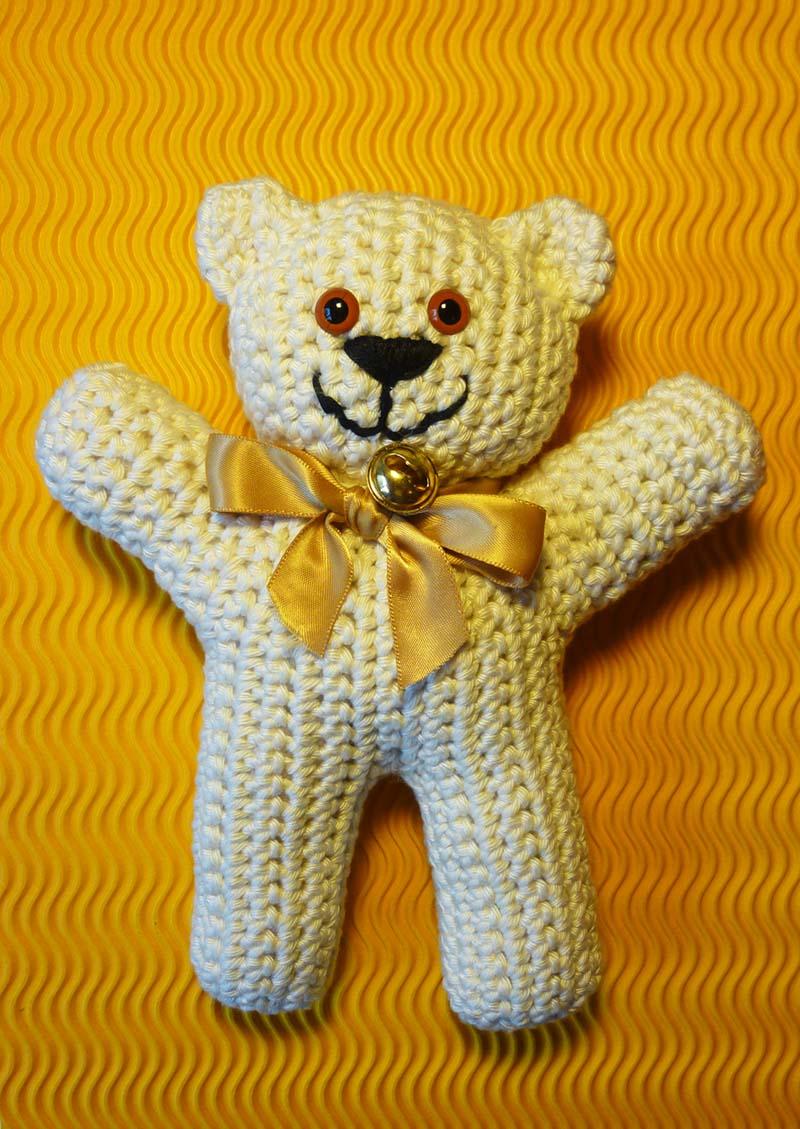 Blumenbunt Teddybär