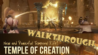 Pelanggaran dan Reward Party Dungeon Temporal Rift: Temple of Creation di Lineage 2 Revolution Indonesia