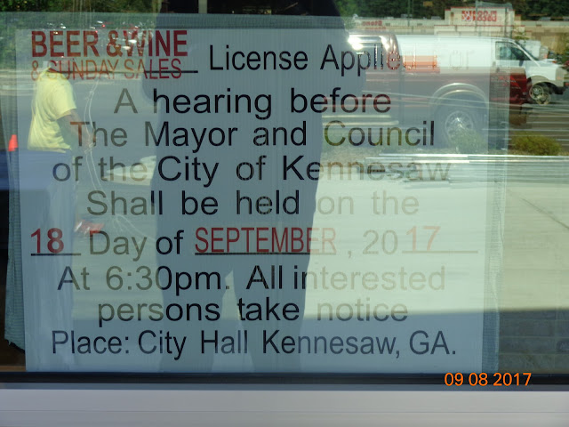 Of The City Kennesaw Shall Be Held On 18 Day September 2017 At 630 Pm All Interested Persons Take Notice Place Hall Ga