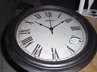Full Circle Creations Mantel Clock Knock Off
