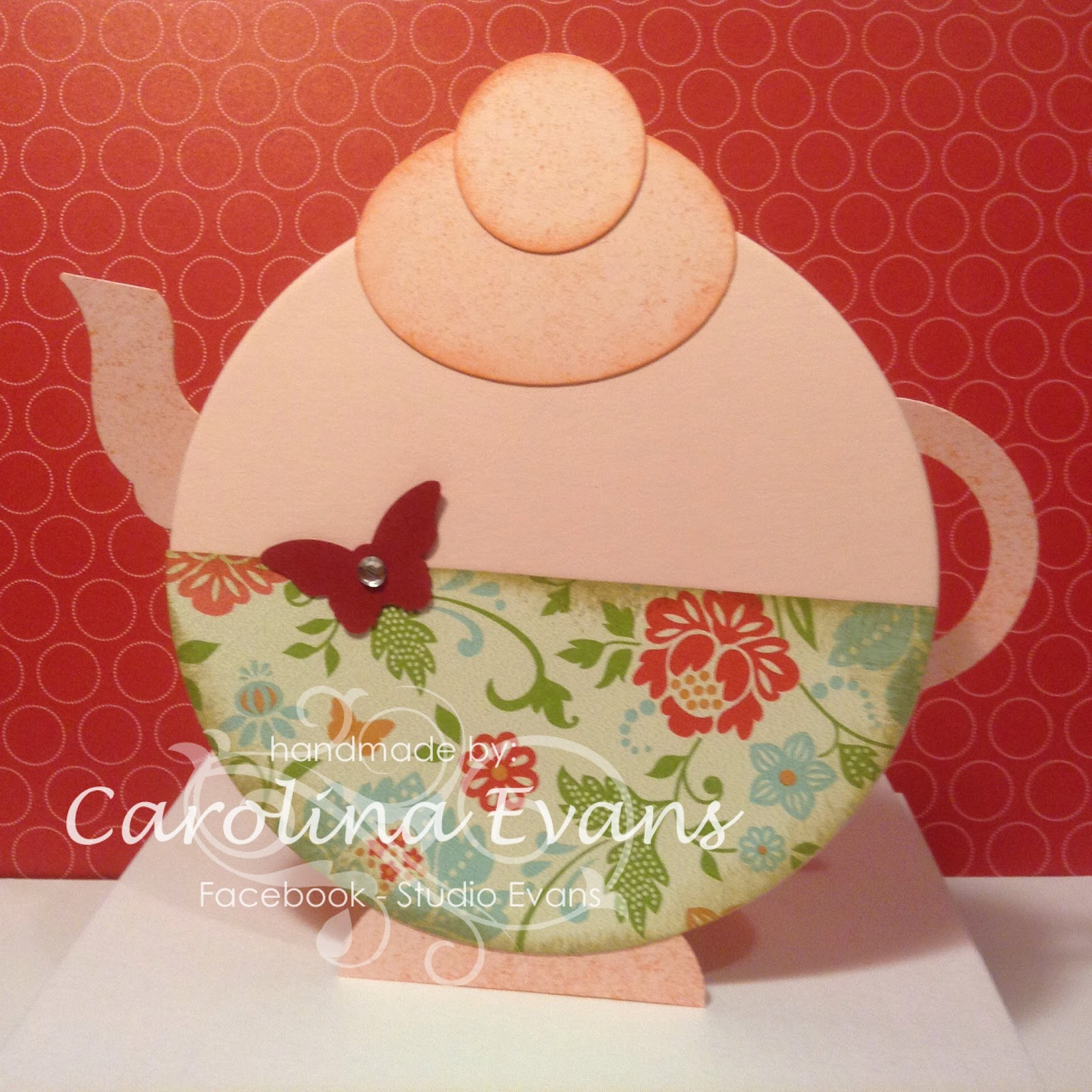 Stampin' Up! Teapot Punch Art Party Invitations