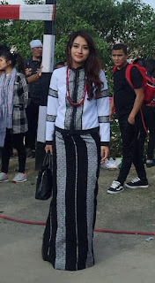 Chapchar Kut lady 2019