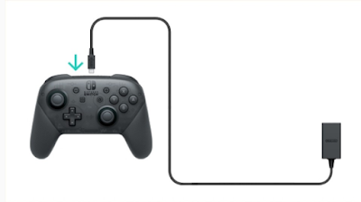 Switch Pro Controller Not Charging