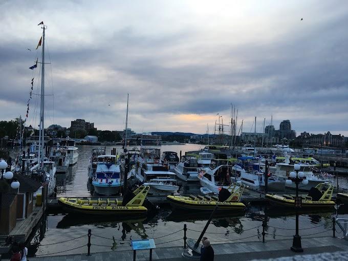 Victoria, Canadá, una breve (muy breve) parada