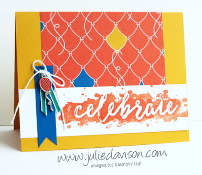 Stampin' Up! Celebrations Duo Party Animal Birthday Cards + Video #stampinup 2017 Occasions Catalog www.juliedavison.com